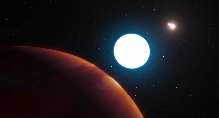 Il primo pianeta con 3 soli