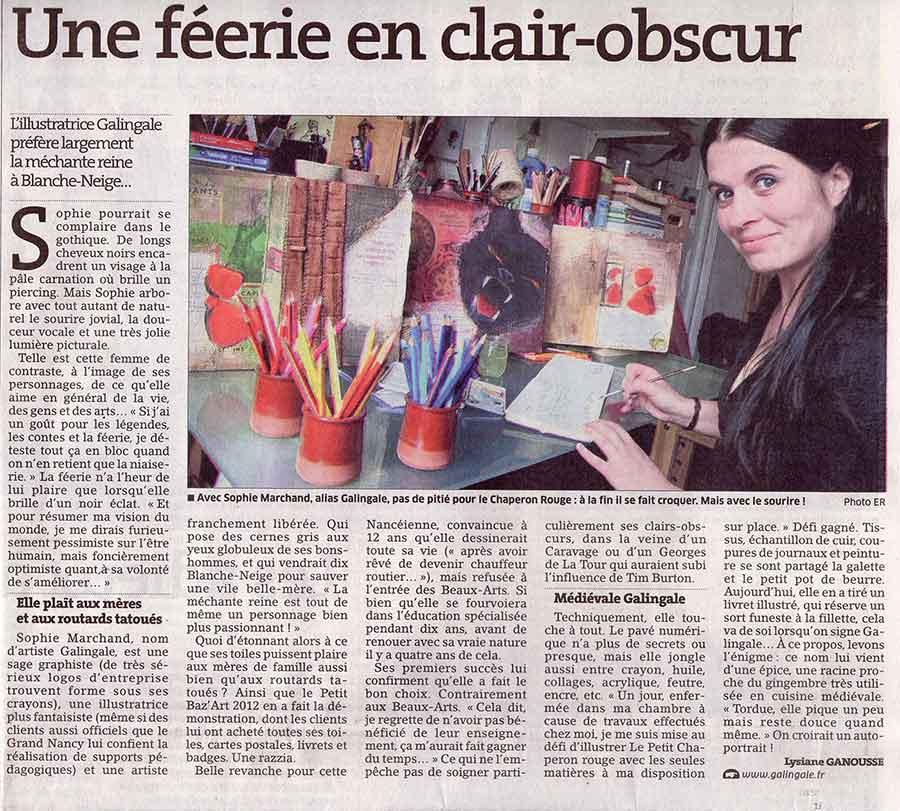 article Galingale Est Républicain