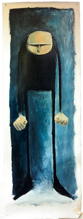colere bleu