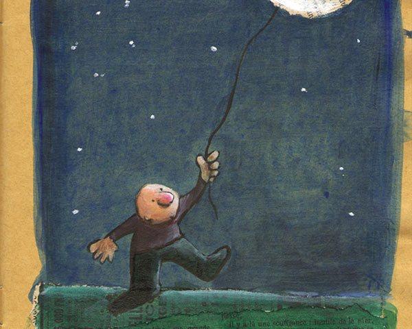 La Lune en cadeau