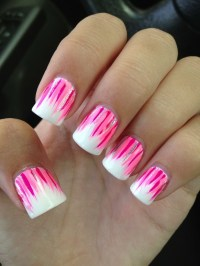 Pink And White Nails Design | www.imgkid.com - The Image ...