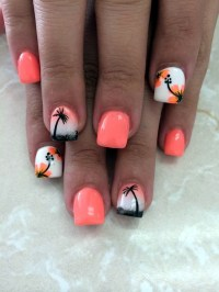 101 Cute Flower Nail Designs that're too attractive to handle