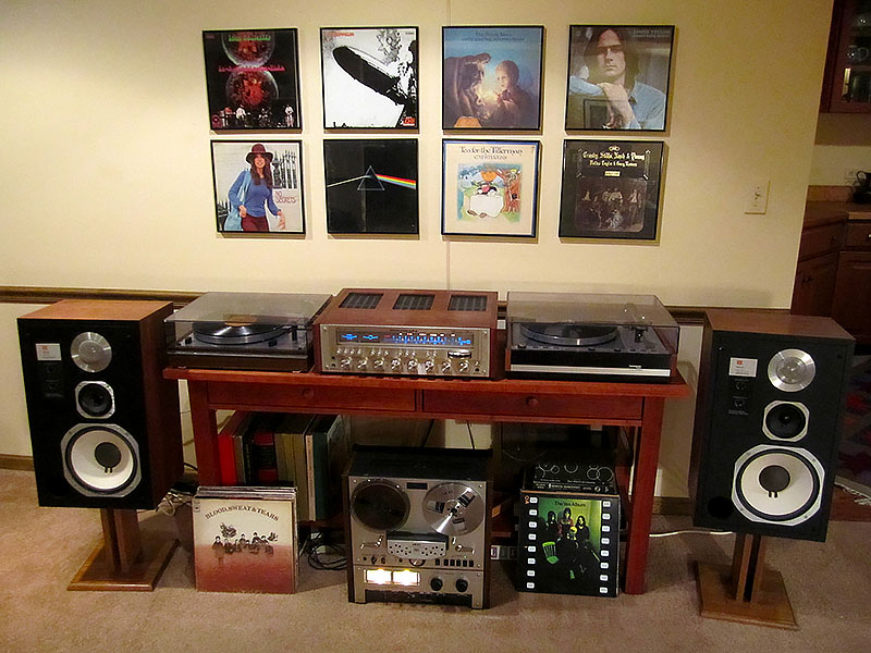 Vintage 70\u0027s Stereo System