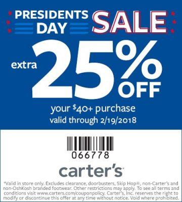 Carters Inc colbro - carters inc