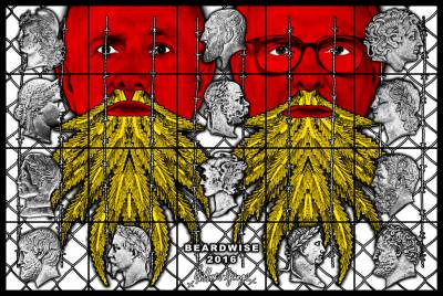 Exclusive 360 – Gilbert and George: THE BEARD PICTURES at Galerie Thaddaeus Ropac