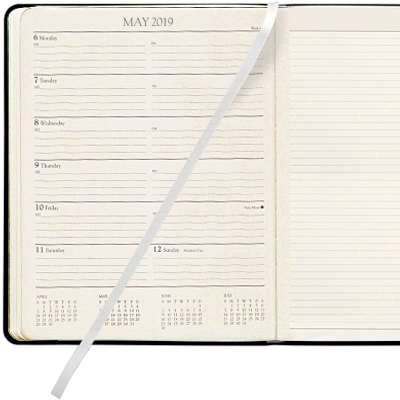 Personalized 2018/2019 Academic Planners Gallery Leather