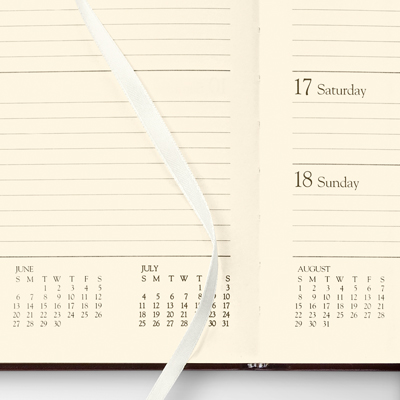 2019 Large Weekly Planner - Gallery Leather