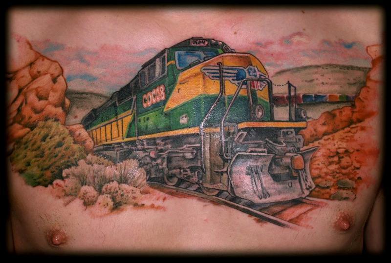 Diesel Wallpaper Iphone Train Tattoo