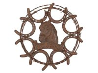 Rustic Equine Welcome Wall Art - Gallop-n-Gifts