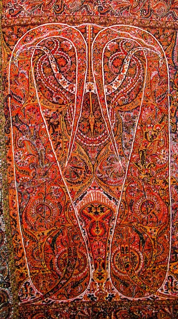 Fall Leaf Pattern Wallpaper Beautiful Kashmiri Winter Shawls Designs Collection 2015