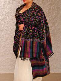 Beautiful Kashmiri Winter Shawls Designs Collection 2015 ...