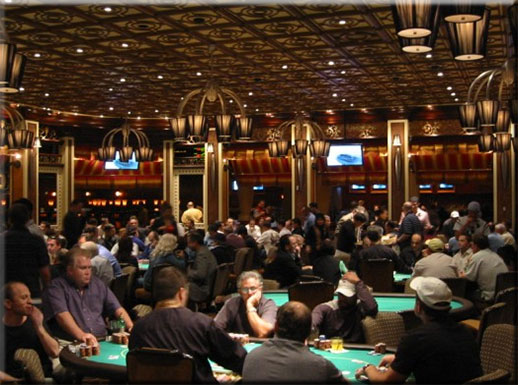 Bellagio Poker Room Review - 3rd Place Rank of Las Vegas Poker Rooms