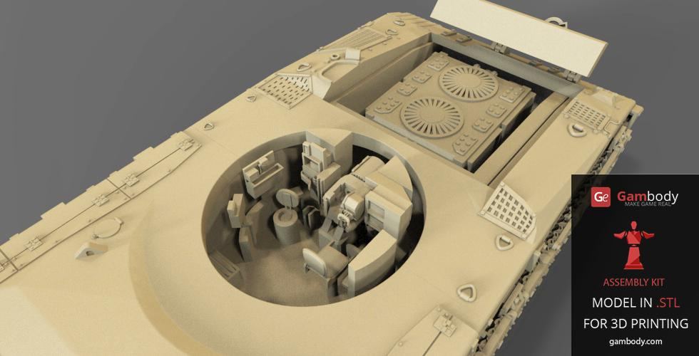 Top 12 Tank 3D Model Designs - Gambody, 3D Printing Blog