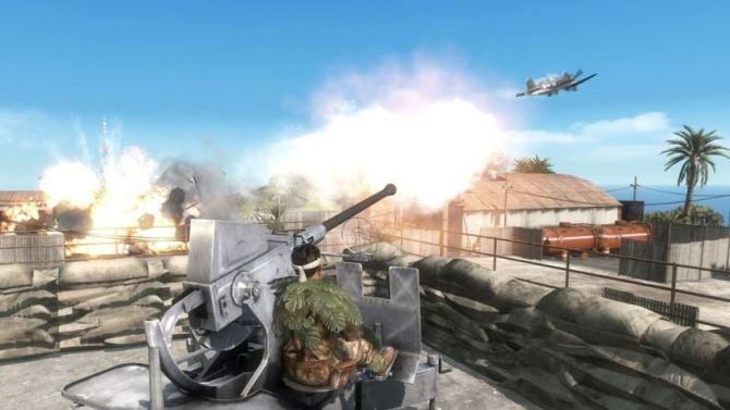 Battlefield 1943 - PC Version Flakk in Aktion