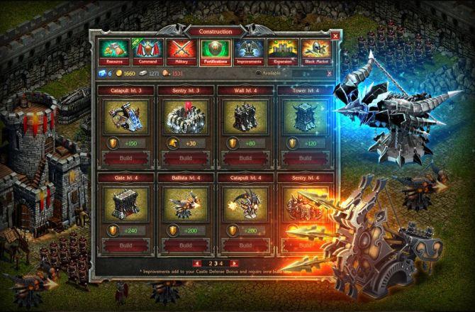 Stormfall Age of War - Truppen ausheben