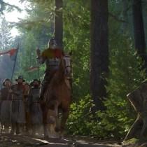 Atmosphäre-in-RPGs-Wald-und-Soldaten-Kingdom-Come-Deliverance