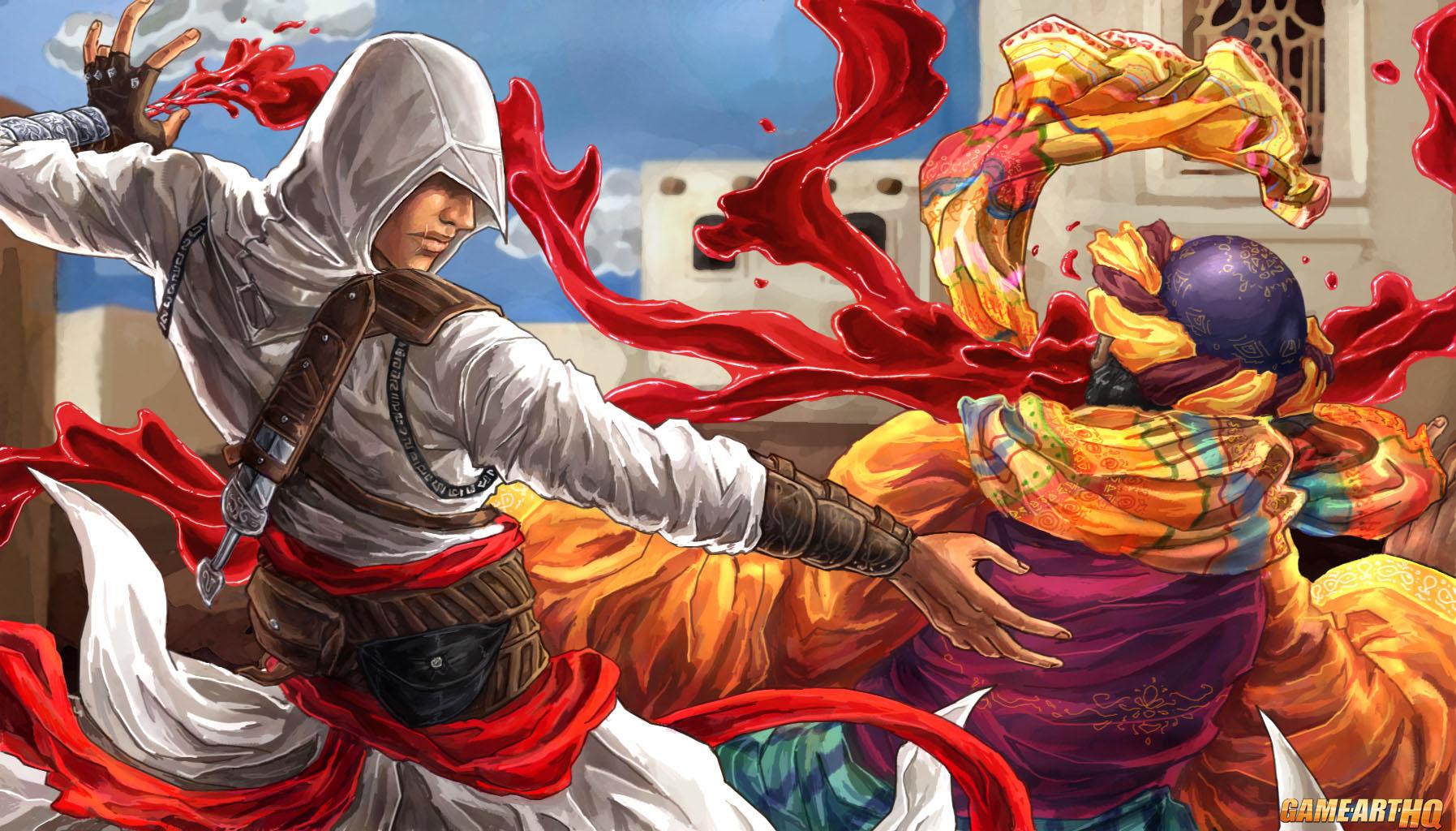 Trigger Girls Wallpaper Great Assassins S Creed Series Fan Art