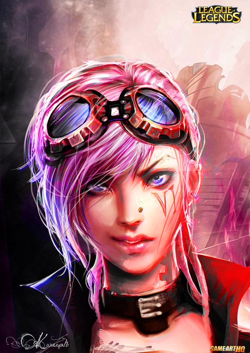 Demon Girl Wallpaper Art Cosplay And Trivia Of Vi The Piltover Enforcer