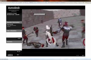 Assassin's Creed Brotherhood Fight Animation