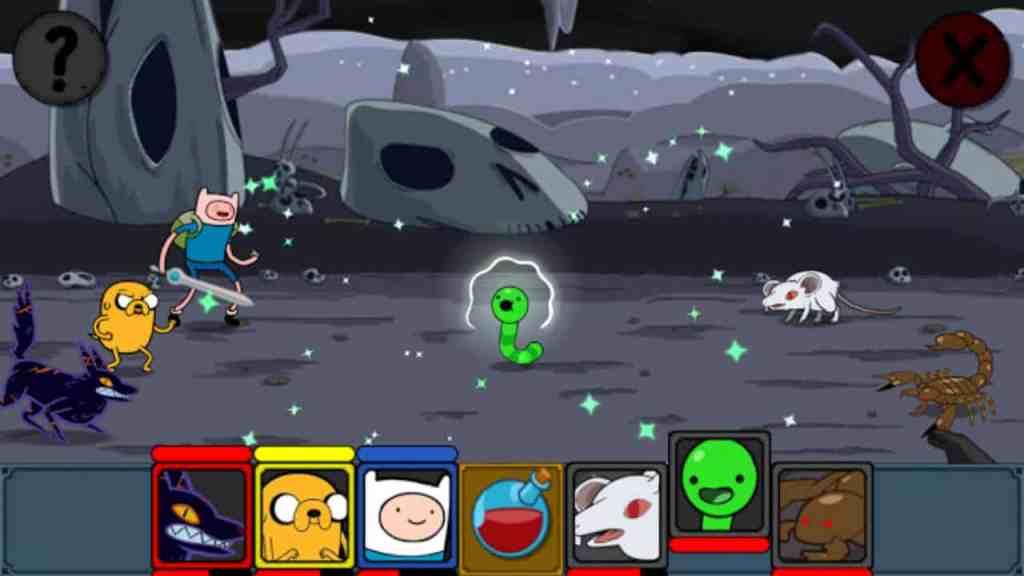Adventure Time Puzzle Quest abilites combos