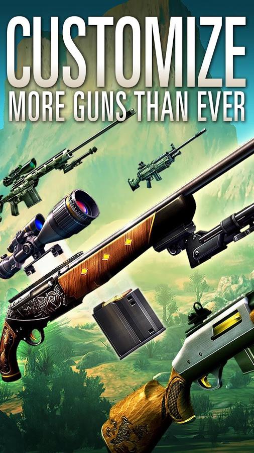 Deer Hunter 2016 gear weapons