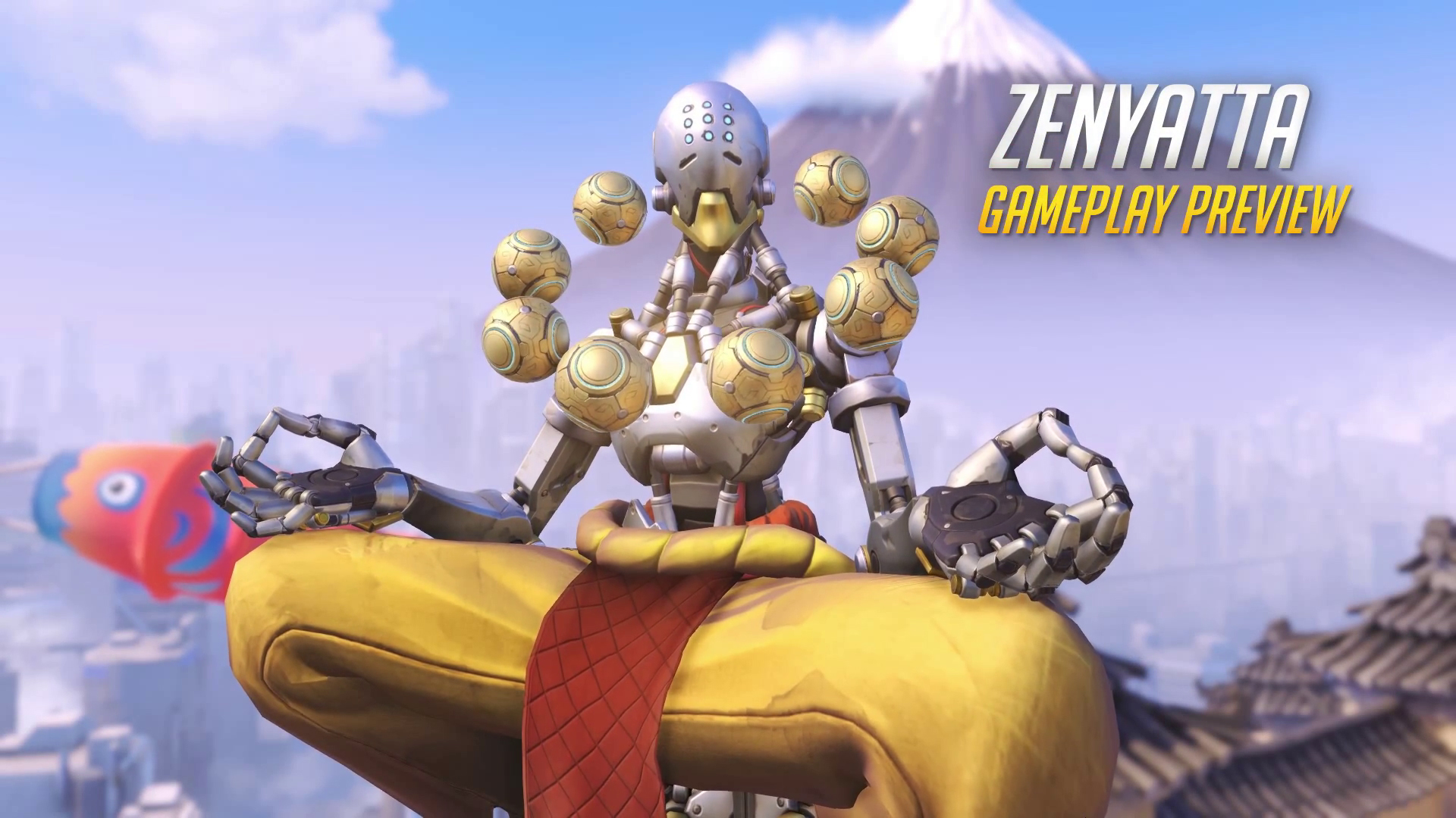 Achievement Quotes Hd Wallpaper Overwatch Bemutatkozik Zenyatta Gameplay H 237 Rblock