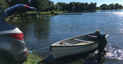 First Boat Delivery   Sportfish Game Fishing Centre - Berkshire