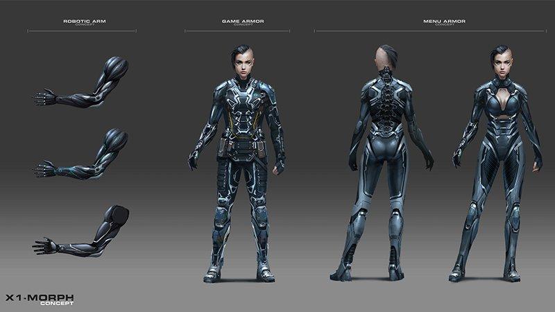 Girl Soldier Wallpaper Modern Combat 5 S New Class X1 Morph Gameloft Central