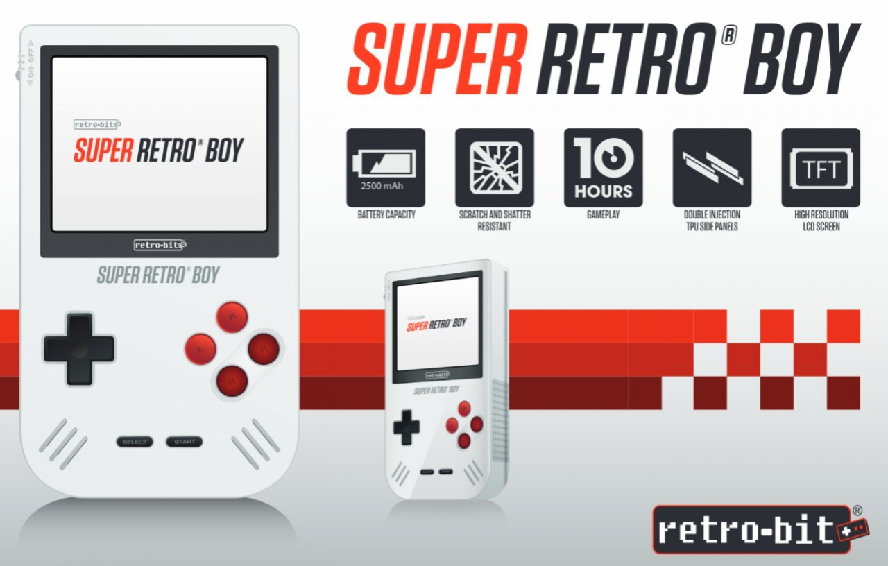Super Retro Boy, la console che fa rivivere il Game Boy