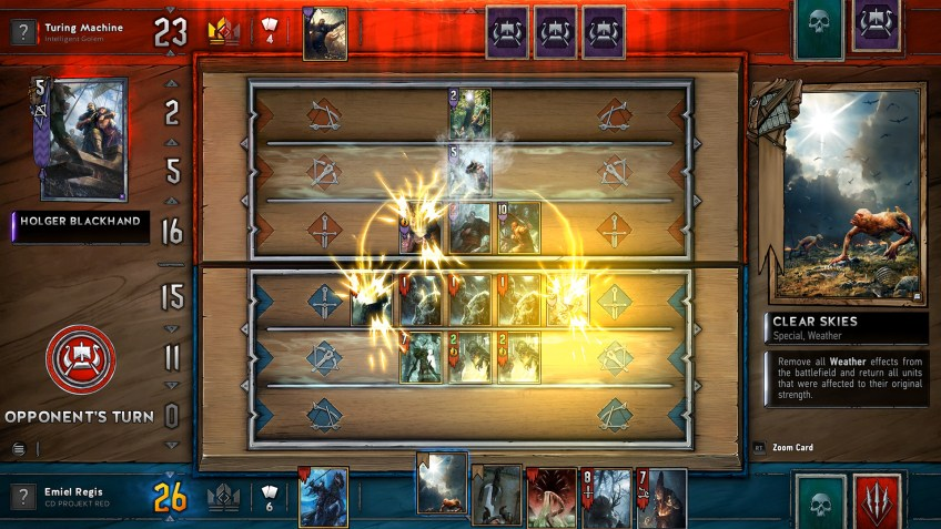 Gwent The Witcher Card Game Closed Beta Gamempire