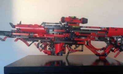 Fully Working Gun Out Of Lego