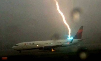That's What Happened When Airliner Got Struck By Lightning