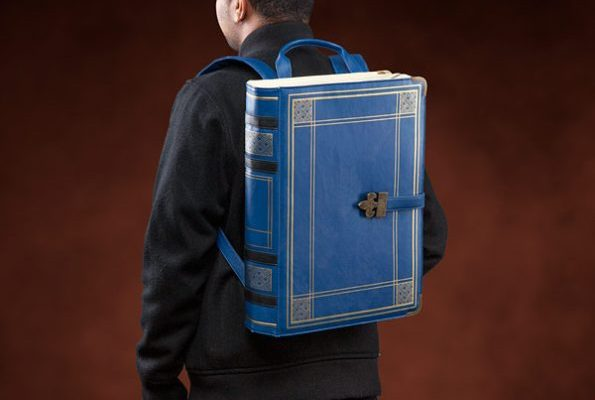 Backpack That Looks Like An Old Book