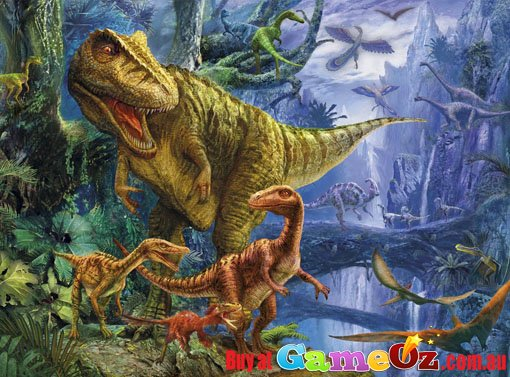 Clementoni Magic 3d Dinosaur Valley Jigsaw Puzzle 1000 Piece