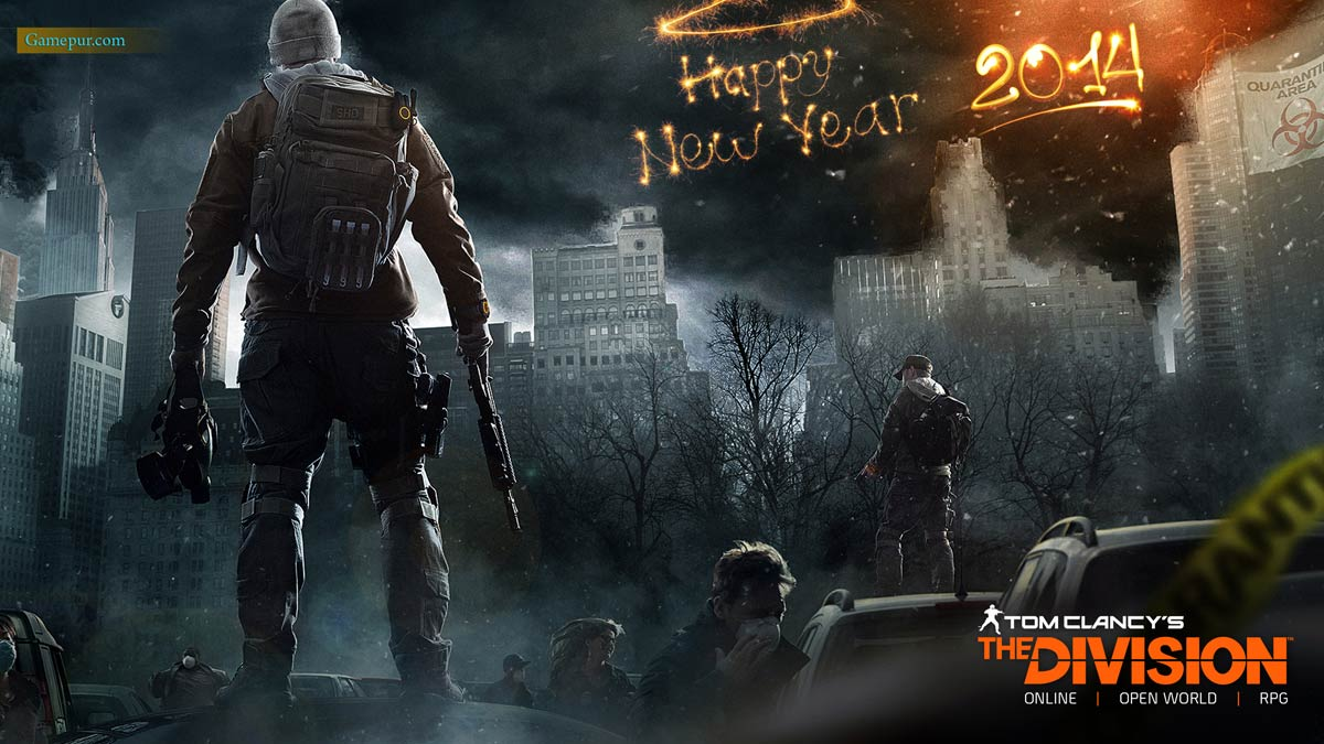 Desktop Wallpaper Fall Out Happy New Year 2014 Video Games High Quality Wallpapers