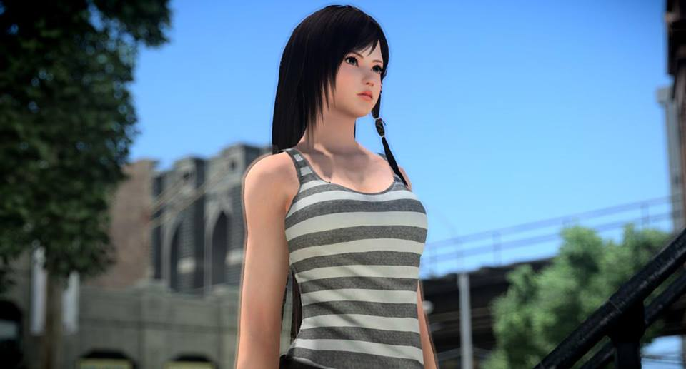 Skyrim Girl Wallpaper New Incredibly Realistic Gta Iv Icenhancer 2 5 Mod