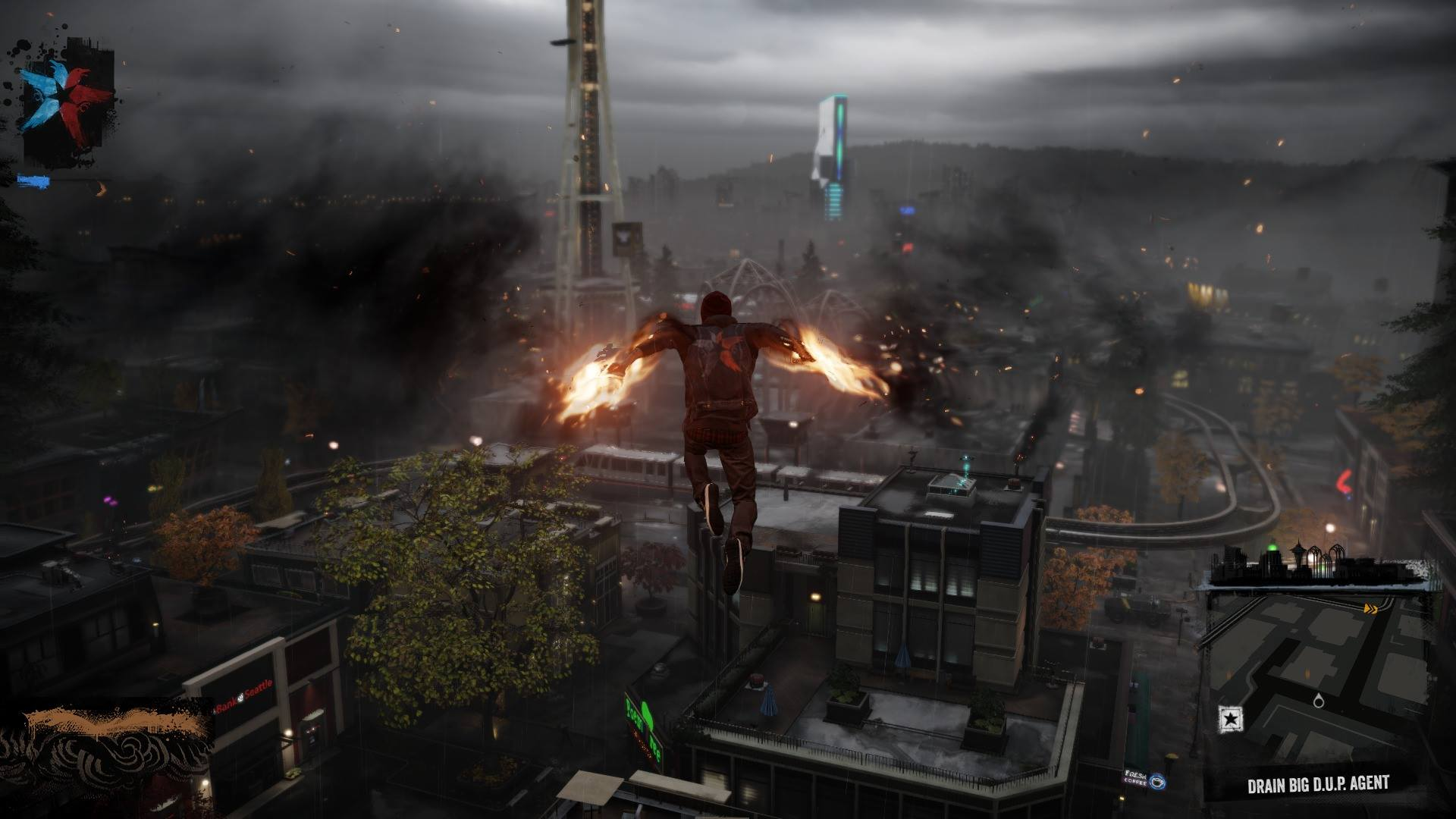 Devil May Cry Wallpaper Hd New Infamous Second Son In Game Gif Amp Screenshots Show