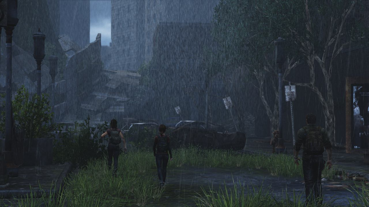 Black Dog Wallpaper The Last Of Us Review Ps3