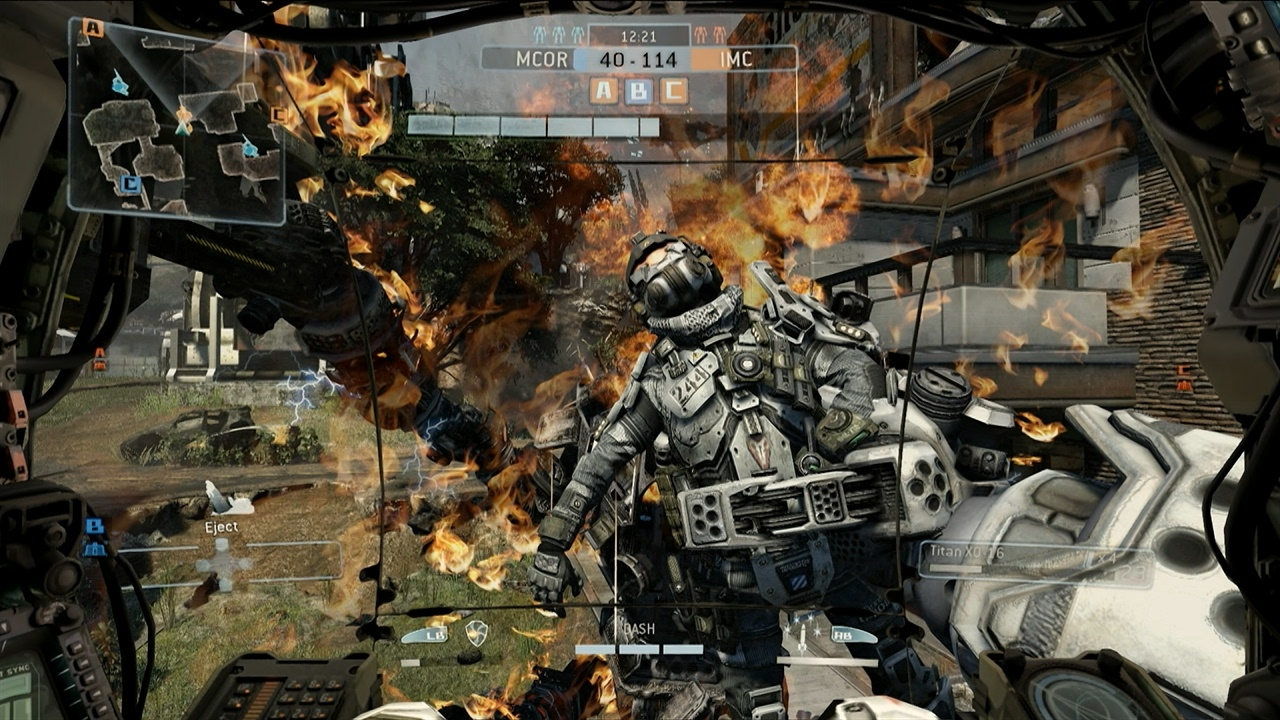 Nintnedo Fall Wallpapers Titanfall Review Gamerbolt