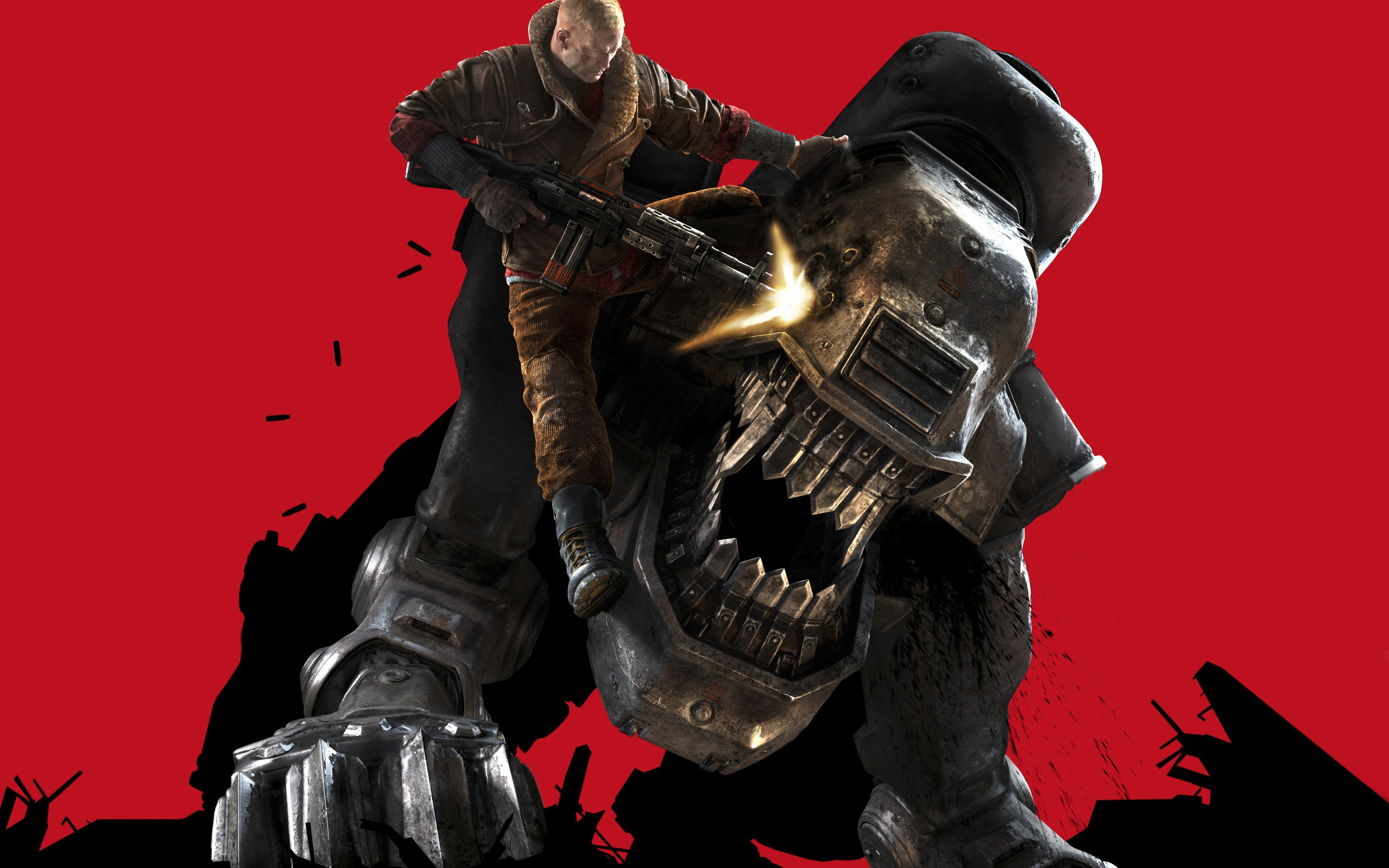 Nintnedo Fall Wallpapers Wolfenstein The New Order Wallpapers Gamerbolt