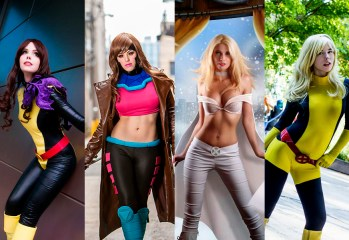 Portada Cosplay X-Men parte 2