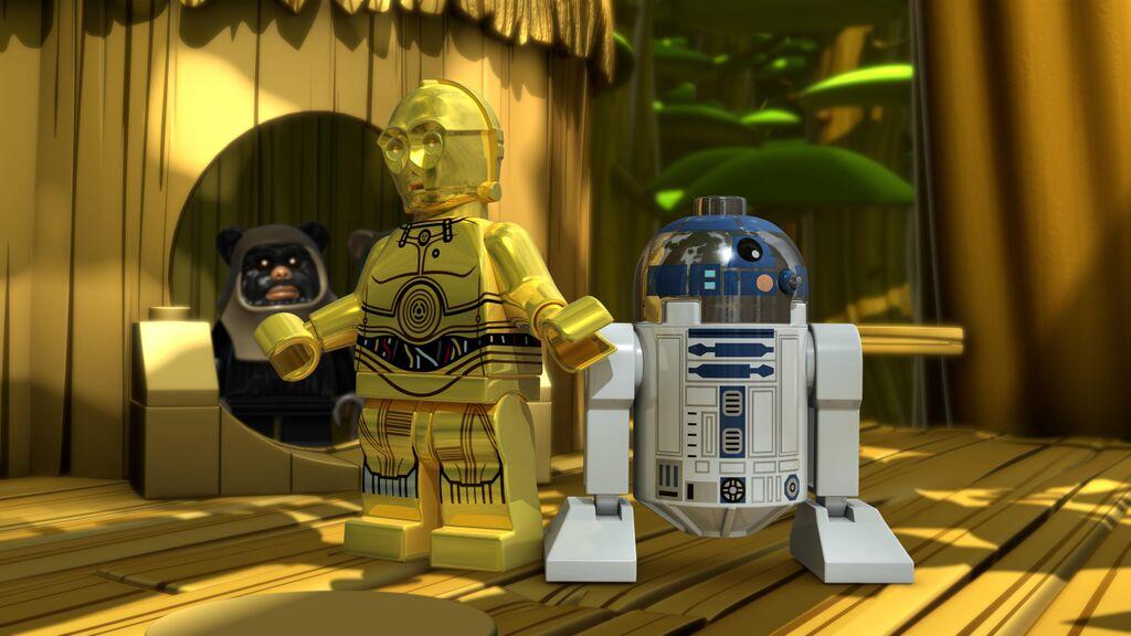 Lego Droids C3PO R2