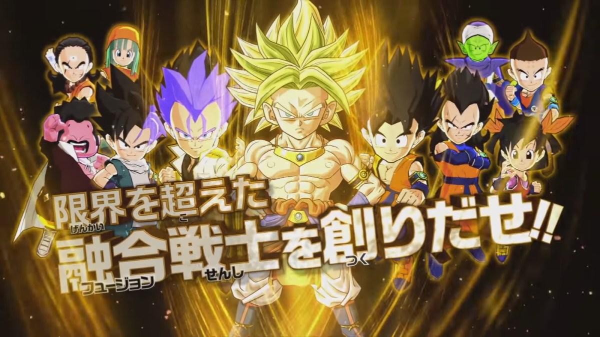 Nuevo tráiler de Dragon Ball Fusions nos revela detalles de la jugabilidad