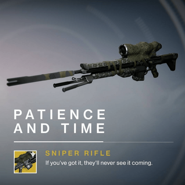 Destiny The Taken king Exotics coming for April Update ...