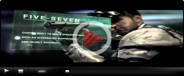 Splinter Cell Blacklist Weapons