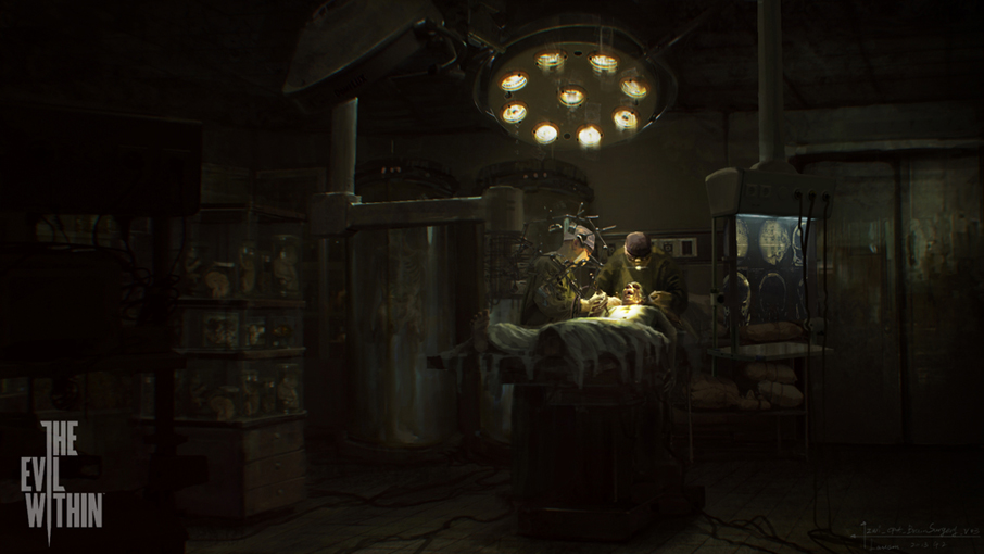 Chaos Wallpaper Hd The Evil Within New Concept Art Shows World In Chaos