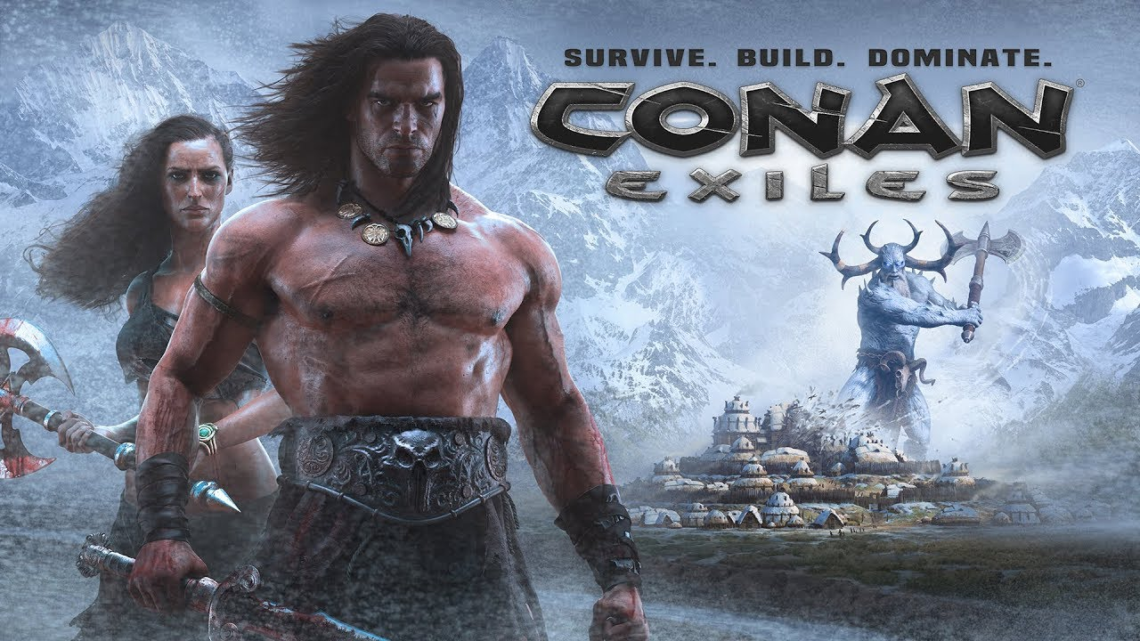 Wallpaper 3d Espada Conan Exiles The Frozen North Free Expansion Coming On