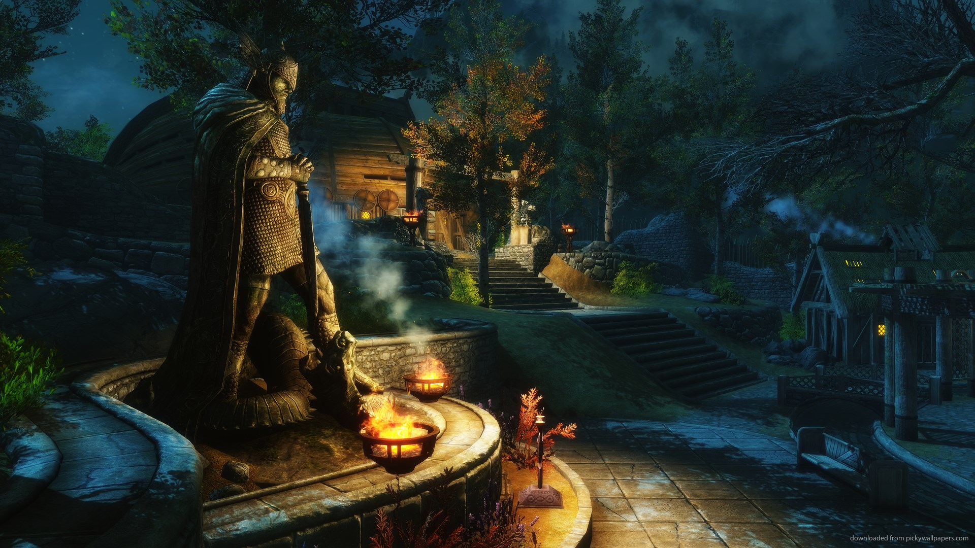 Alone Hd Wallpapers 1080p The Top 10 Best Skyrim Wallpapers Gamers Decide