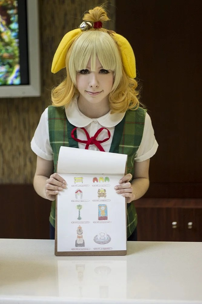 Animal Crossing New Leaf Wallpaper Qr Isabelle Animal Crossing Cosplay