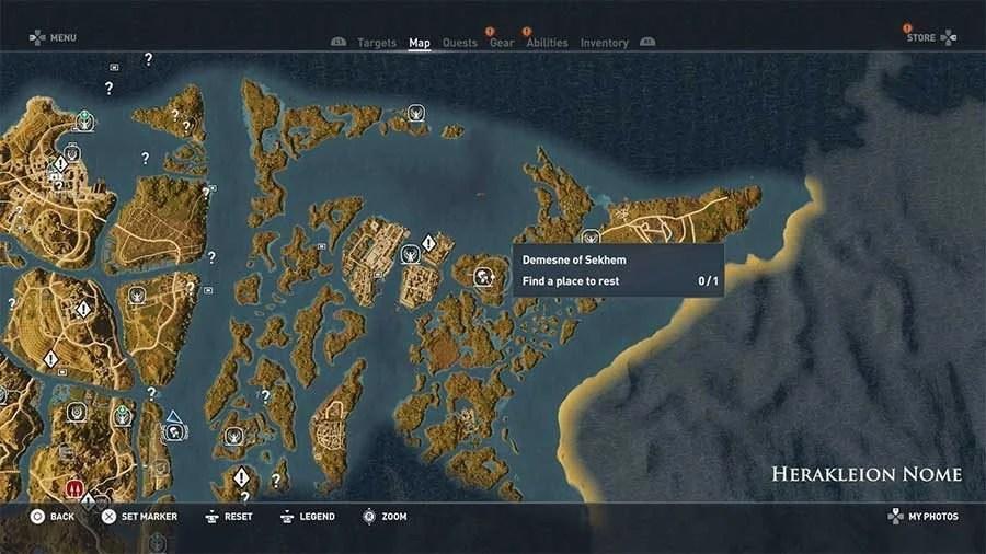 Assassins Creed Origins Hermit Location Guide